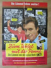 Filmposter - Die Lümmel von der ersten Bank - Zum Teufel mit der Penne * EA 1968