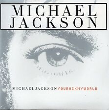 CD single Michael JACKSON  You rock my world CARD SLEEVE 3-track  NEW SEALED