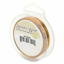 Artistic Wire Natural Copper Round 32 gauge 100 yards 41163 Tarnish Resistant