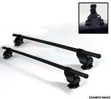 2x Oval Roof Bars with Mounts - For Ladders Bike Ski mounts etc By SIEPA - F27