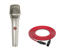 Neumann KMS 105 | Nickel | Handheld Supercardioid Condenser Microphone