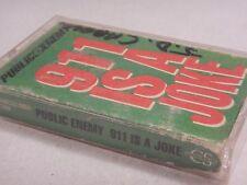 Def Jam : Public Enemy 911 Joke Cassette Single 1990