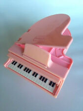 Playskool Pink Baby Grand Piano Dollhouse Furniture, #1449 (1994), Plays Songs!
