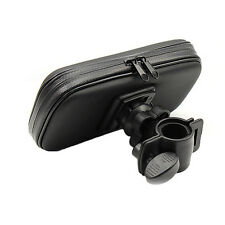 1x Motor Handlebar Mount Waterproof Bag Case Holder For Mobile Phone GPS Pad zyx