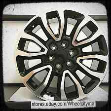 20 inch black machine Ford F150 Raptor SVT OE factory replica wheels 3891 6x135