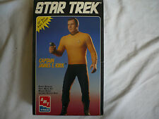 cinéma TV Star Ttrek Captain James T. Kirk vinyl AMT ERTL