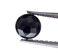 0.27TCW 4.0MM Round Rose cut Jet Black Color Loose Natural Diamond for earring