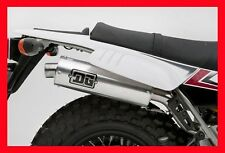 DG Yamaha TW200 R-Series Slip-On Exhaust, Pipe, Silencer, muffler; 02-4205