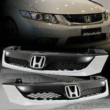 For 2012 Honda Civic 4 Door 4 DR Sedan ABS Front Hood Modulo Style Grille Grill