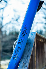 "New 10' Stand Up Paddleboard - 6"" Board Width Inflatable SUP W/ Paddle  Blue"
