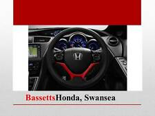 GENUINE HONDA CIVIC 2015 STEERING WHEEL DECORATION RALLY RED