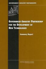Government-Industry Partnerships for the Development of New Technologies Policy
