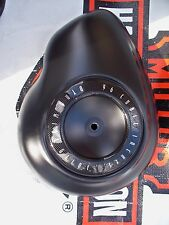 Harley air cleaner cover black-dyna wide glide-super glide gloss-flat-wrinkle