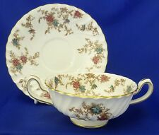 A MINTON 'ANCESTRAL' SOUP CUP AND SAUCER