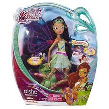 "Winx Club Harmonix Aisha 11.5"" Fashion Doll by Jakks Pacific  AISHA"