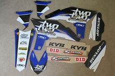FX TEAM 22 RACING GRAPHICS YAMAHA YZ250F 2010 2011 2012 2013