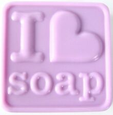 I Heart  3 Soap -  heavy duty Sheet Soap Mold