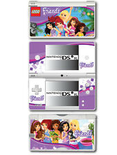 Lego Friends Vinyl Skin Sticker for Nintendo DSi XL