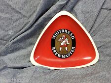 Vintage WHITBREAD BEER ASHTRAY ALE FAIENCE PROCERAM AUBAGNE PROVENCE FRANCE 1967