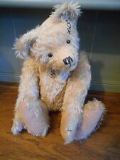 Loveable & Huggable OOAK Teddy Bear by Enchanted Bearies UK, Mohair & Growler