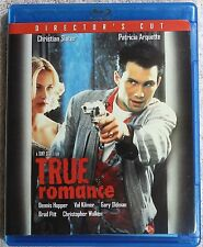 True Romance (Blu-ray, 2009, Director's Cut) 1993-Mint Disc-Rare/OOP, Slater  LZ