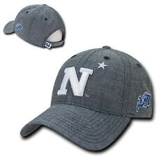 US Naval Academy USNA Midshipmen NCAA Cotton Denim Baseball Ball Cap Hat