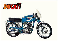 DUCATI Poster 250 Racer Diana  GT Monza Mark 3 Mark 1 1960's Suitable to Frame