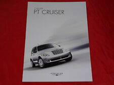 Chrysler PT Cruiser Classic Limited Touring folleto de 2006