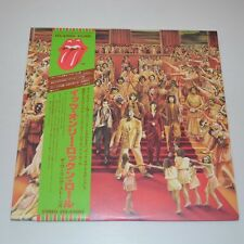 THE ROLLING STONES - IT'S ONLY ROCK'N ROLL - 1979 JAPAN LP