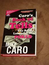 Caro's Book of Tells, The Body Language of Poker , Hardcover, Illustrated, Poker