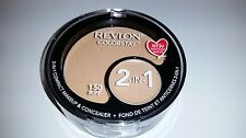 Revlon Colorstay 2 In 1 Compact Makeup & Concealer Foundation Buff 150 FREE SHIP