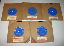 "Charlie Shavers 7"" 33 EP JUKEBOX SET OF 5 JAZZ HEAR Like Charlie EVEREST"