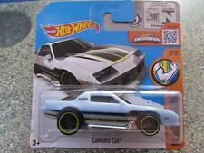 Hot Wheels 2016 #126/250 chevy CAMARO Z28 blue Muscle Mania Case B