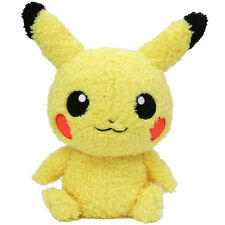"SALE! Sekiguchi Pokemon Go Moko Moko  9"" Fluffy Pikachu Male Plush Doll Toy"