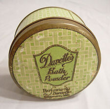 Davette's  Bath Powder  Tin