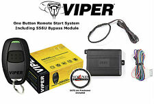 Viper 4115V 1 Button Car Remote Start System w/ Bypass Module 556U Included