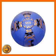 5 KG SLAM BALL MEDICINE CORE GYM FITNESS FIT EXERCISE TRAINING CROSSFIT BOOTCAMP