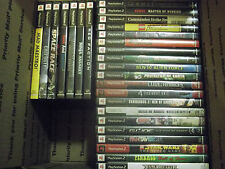 PlayStation 2 PS2 LOT - 27 Complete Games Resident Evil Lego Call of Duty Avatar