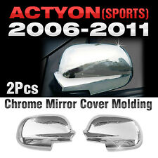 Chrome Mirror Cover Garnish Molding For SSANGYONG 2005 - 2013 Actyon / Sports