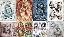 Tattoovorlagen Motive über 740 Seiten Tattoo Flash cd steve soto milosch