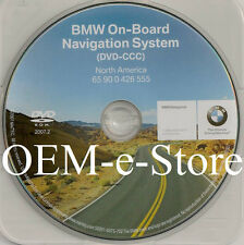 2004 2005 2006 2007 2008 BMW M6 Coupe Convertible Navigation DVD Map U.S Canada