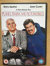 Steve Martin John Candy PLANES, TRAINS AND AUTOMOBILES ~ 1987 Comedy | UK DVD