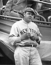 YOUNG BABE RUTH SIGNS AUTOGRAPH  AWESOME 8X10