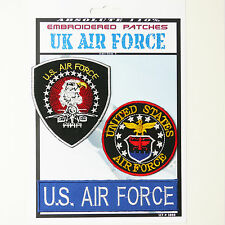 US AIRFORCE MILITARY Iron-On Patch Super Set #088 - FREE POSTAGE!