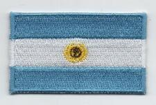 Embroidered ARGENTINA Flag Iron on Sew on Patch Badge HIGH QUALITY APPLIQUE