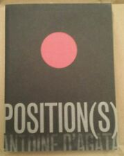 RARE! Out of Print! Antoine d'Agata Position(s) Positions Position FIRST EDITION