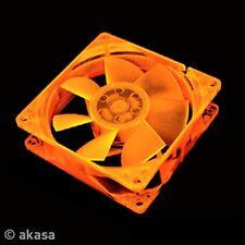 Akasa Orange UV Reactive 80mm Case Fan Lo-noise