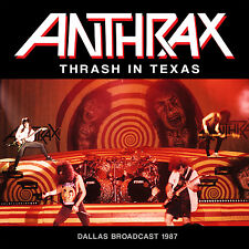 ANTHRAX New Sealed 2016 PREVIOUSLY UNRELEASED LIVE 1987 DALLAS CONCERT CD