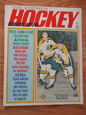 PHIL ESPOSITO and KEN HODGE Cord Sportfacts HOCKEY Guide (1970) Magazine BRUINS