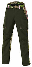 PINEWOOD Ladies hunting pants RED DEER/WOLF - with Membrane - AP Pink/Moss green
